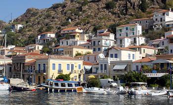 Hotels Poros island, Greece
